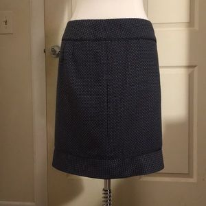 Ann Taylor Skirts - Blue and black pencil skirt!